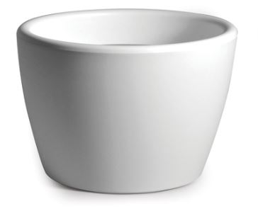 Plastic Bloempot Wit.Kunststof Bloempot Type Essence Model Bowl Kleur Wit